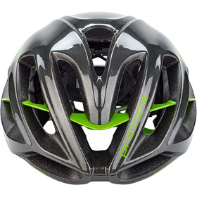 Kask Protone Casque, anthracite/green